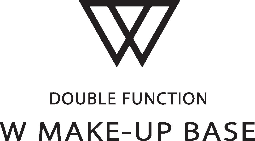 ダブルメイクアップベースロゴ
